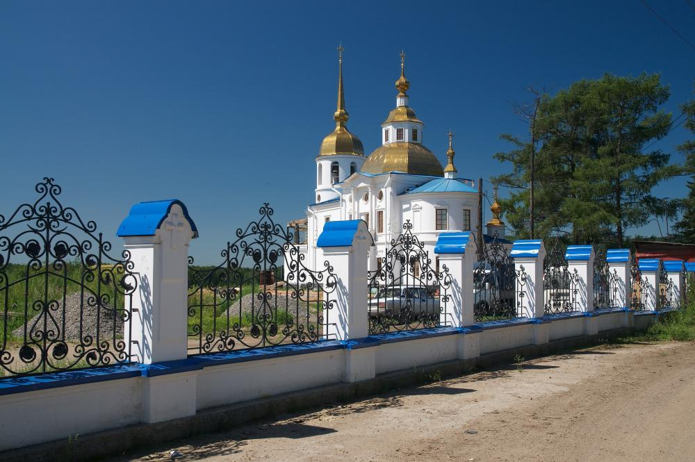 Церковь Казанской иконы Божей Матери в Усть-Куде