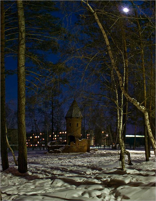 Ангарск. В старом парке.