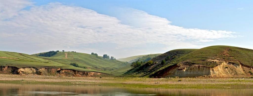 Вниз по Ангаре, правый берег