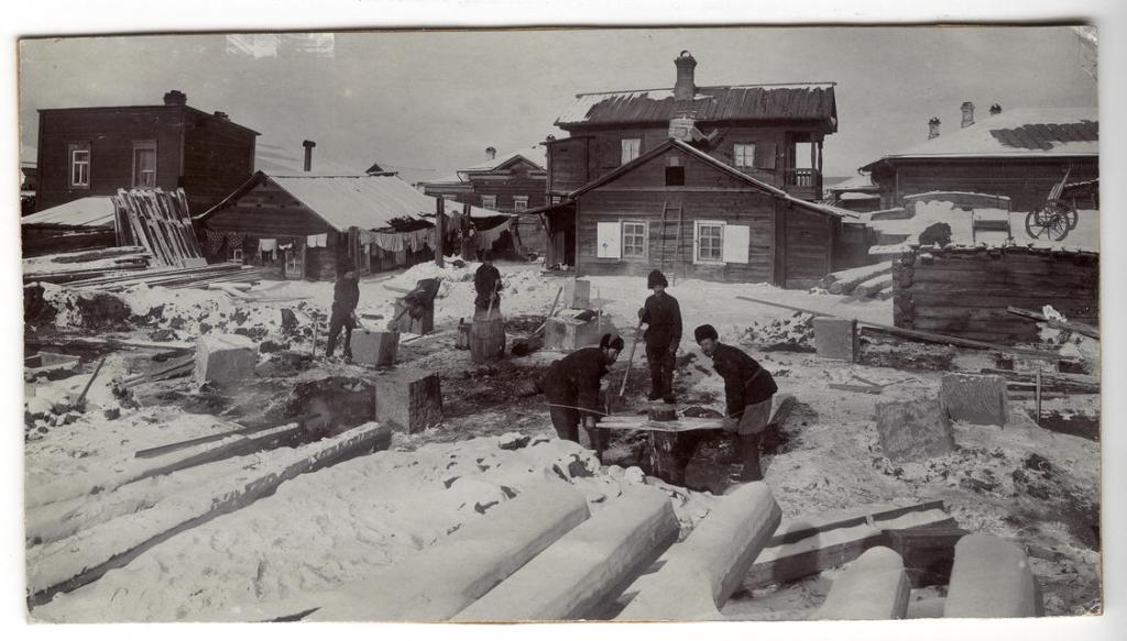 Строительство жилого дома на улице Ланинской