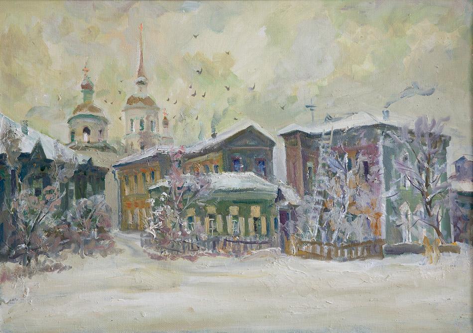 Иркутск. 2010, х. м., 50х70