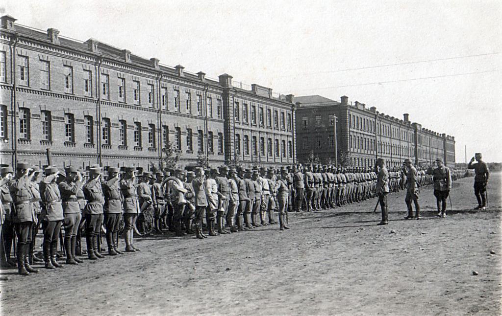 Празднование второй годовщины битвы у Зборова (Иркутск, 2 июля 1919 год)