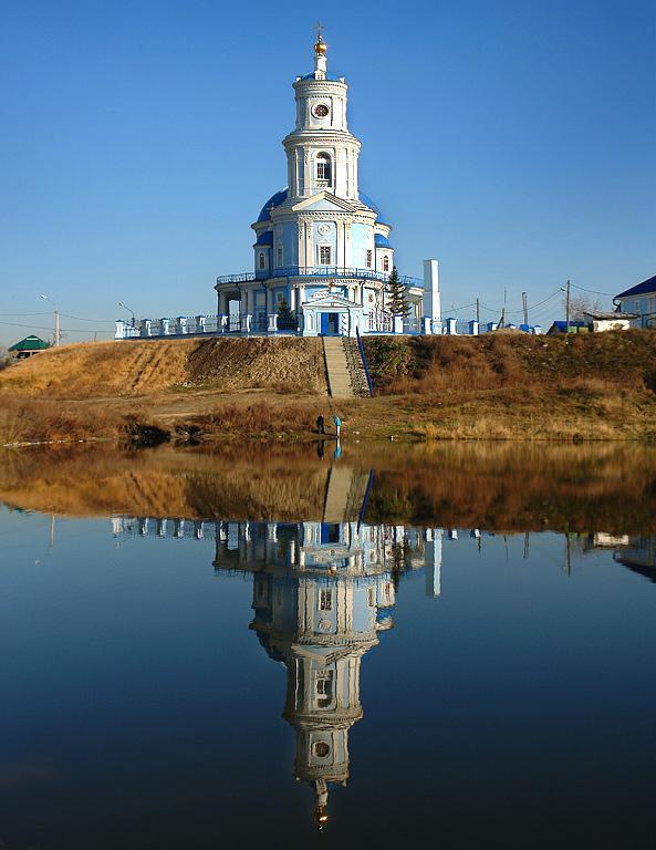 Храм в посёлке Тельма.