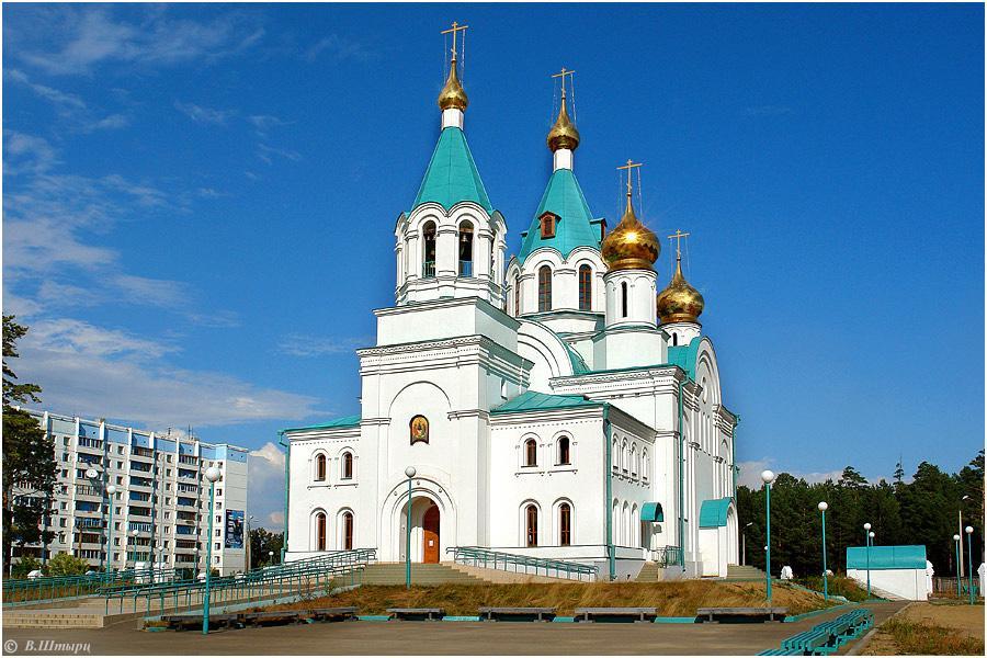 Храм в Ангарске