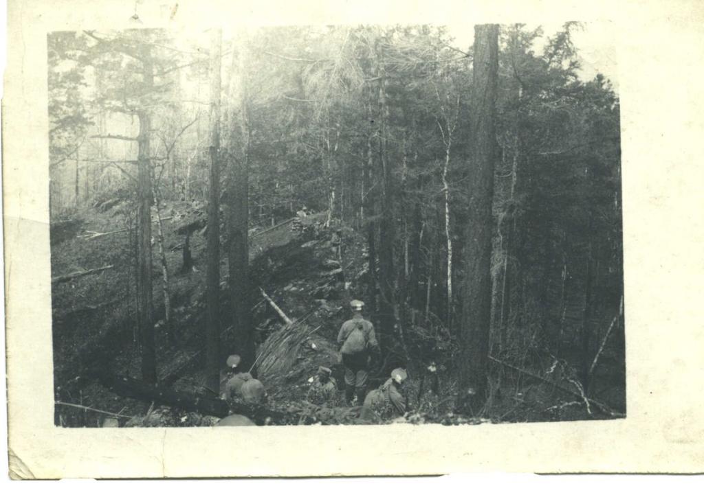 Патрули пятой и седьмой роты на Байкале