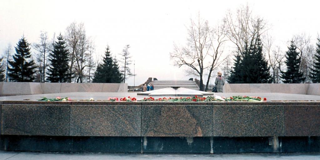Иркутск, 1990. Вечный огонь