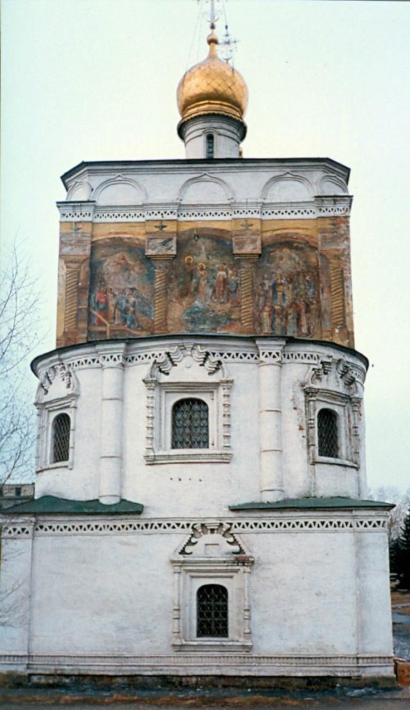 Иркутск, 1990. Спасская церковь