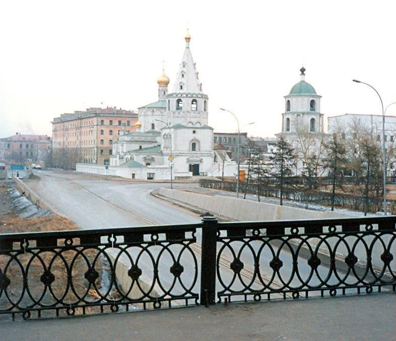 Иркутск в 1990 году