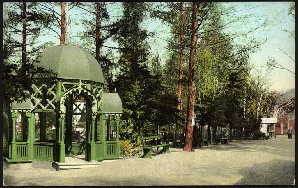 Императорский сад. Беседка.