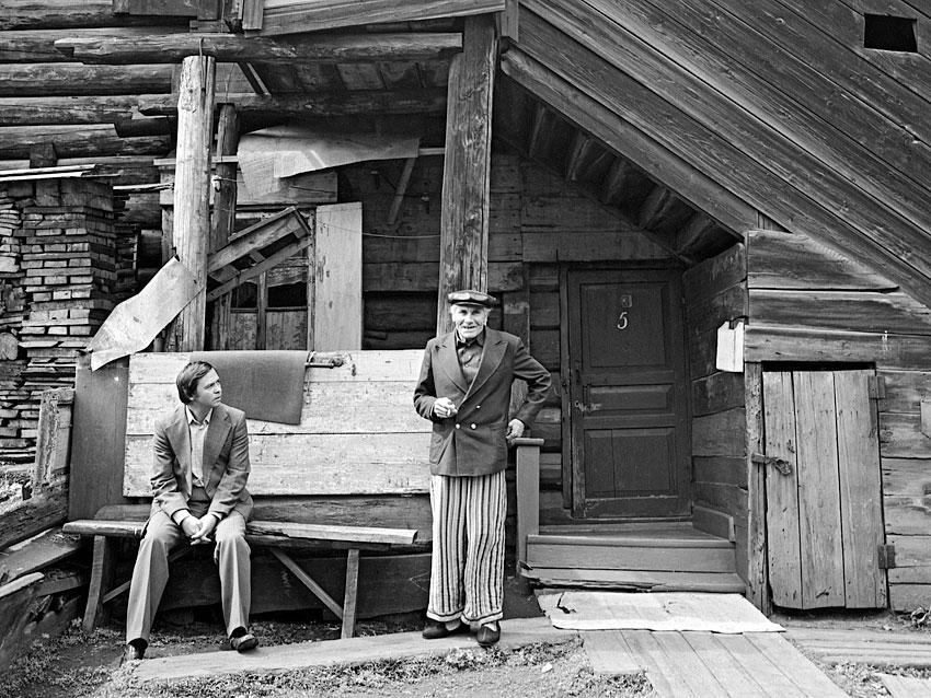 Диалог в старом Иркутске, начало 1980-ых. Валентин Распутин
