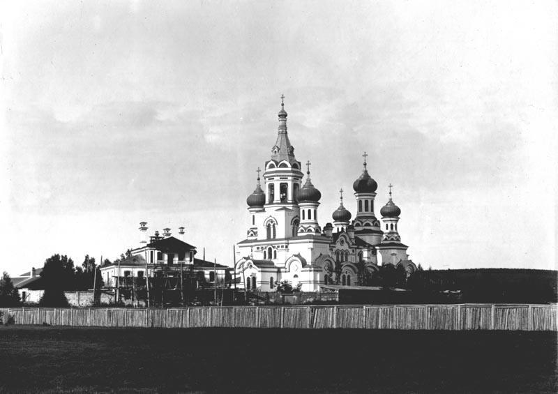 Князе-Владимирский монастырь в окрестностях Иркутска. Начало XX в.