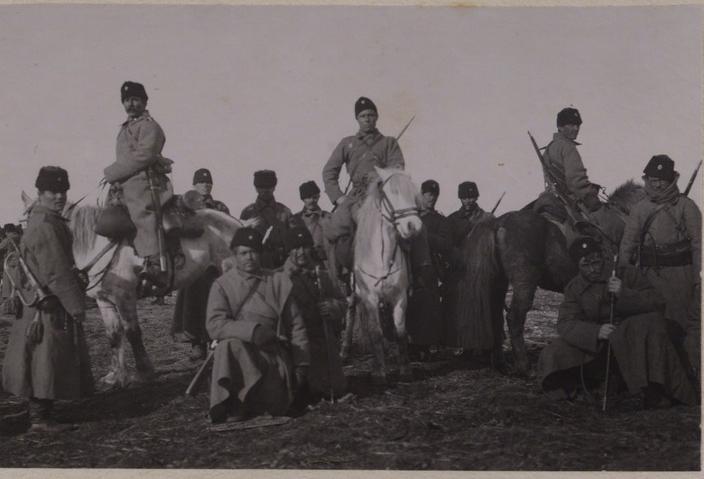Передвижение казачьей дивизии из Иркутска в Манчжурию