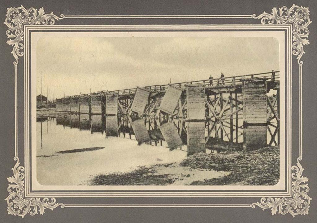 Малый мост на реке Уде