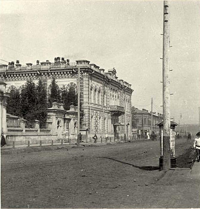 Большая ул. Д. Клуба Общ. Прикащиковъ.