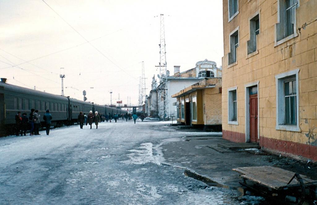 Транссибирская магистраль - 1990 год. Станция Нижнеудинск