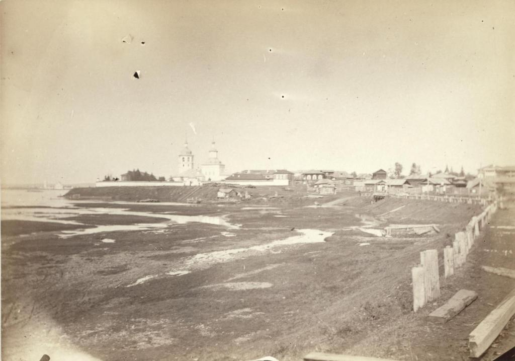 Иркутск. Знаменское предместье 1885