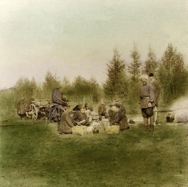 На охоте. 1907 г.