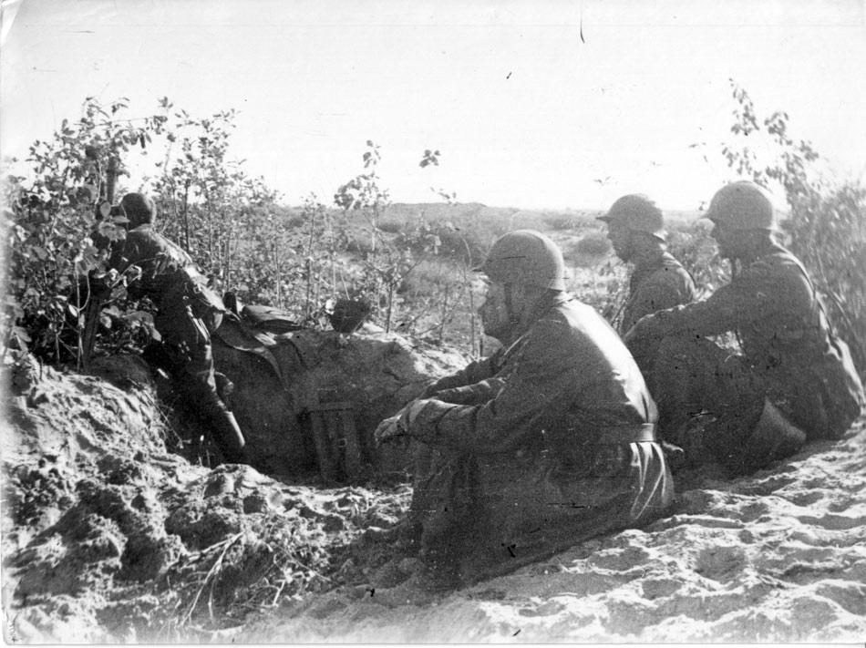Война на Халхин-Голе. Типичный рельеф местности