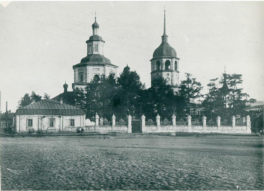 Тихвинская церковь. Начало тридцатых
