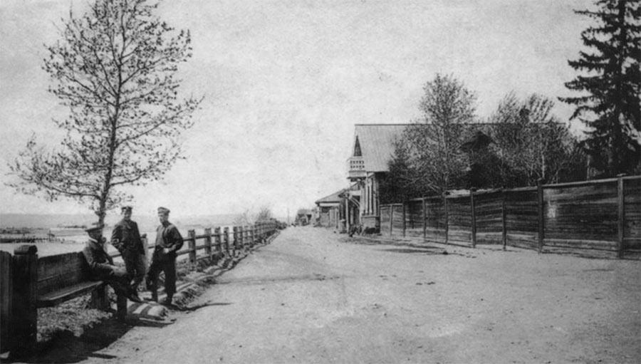 Река Уда, Нижнеудинск, начало ХХ-го века