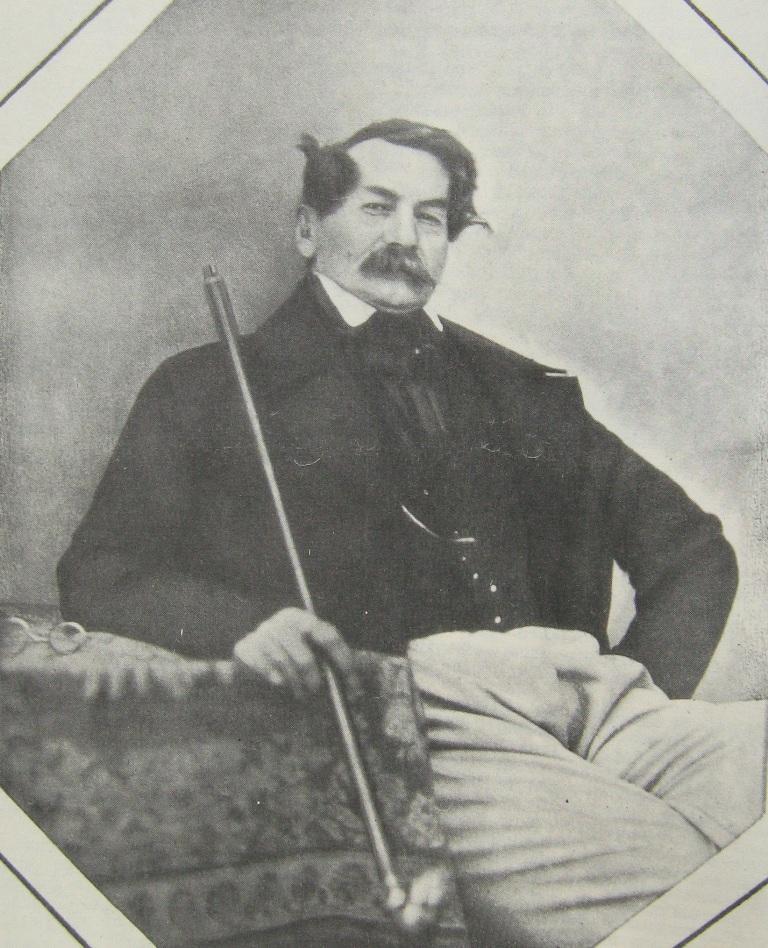 Иосиф Викторович Поджио (30 августа или 22 ноября 1792, Николаев, — 6 января или 8 января 1848).Дагерротип А.Давиньона. Иркутск. 1845 г.