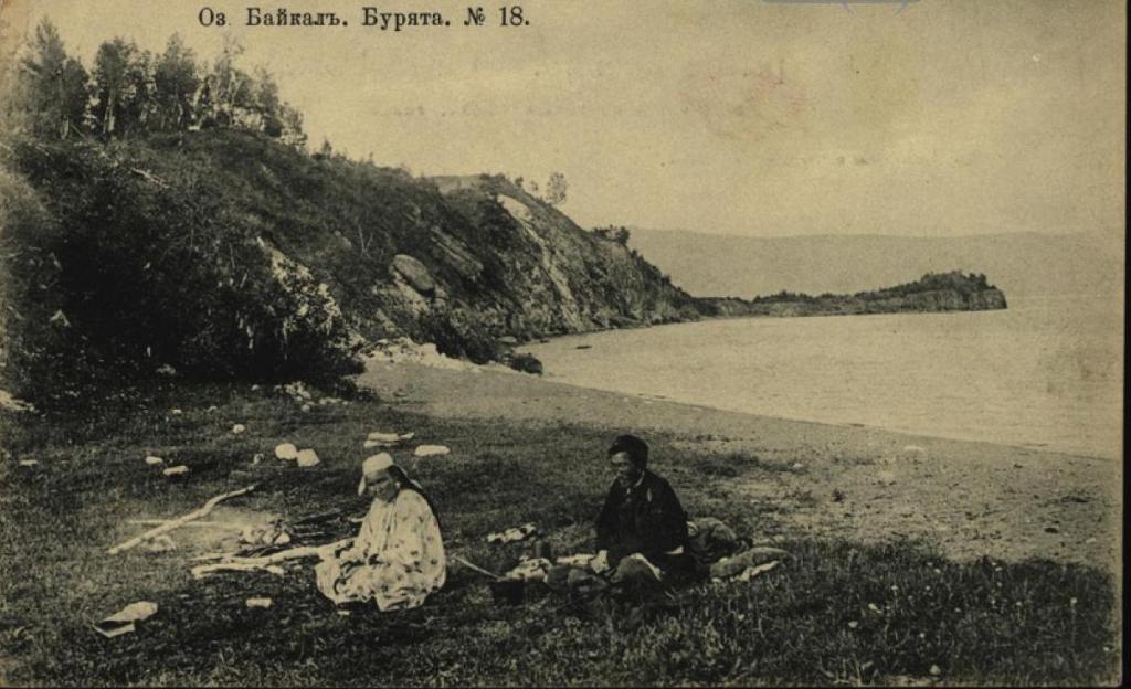 Озеро Байкал. Буряты