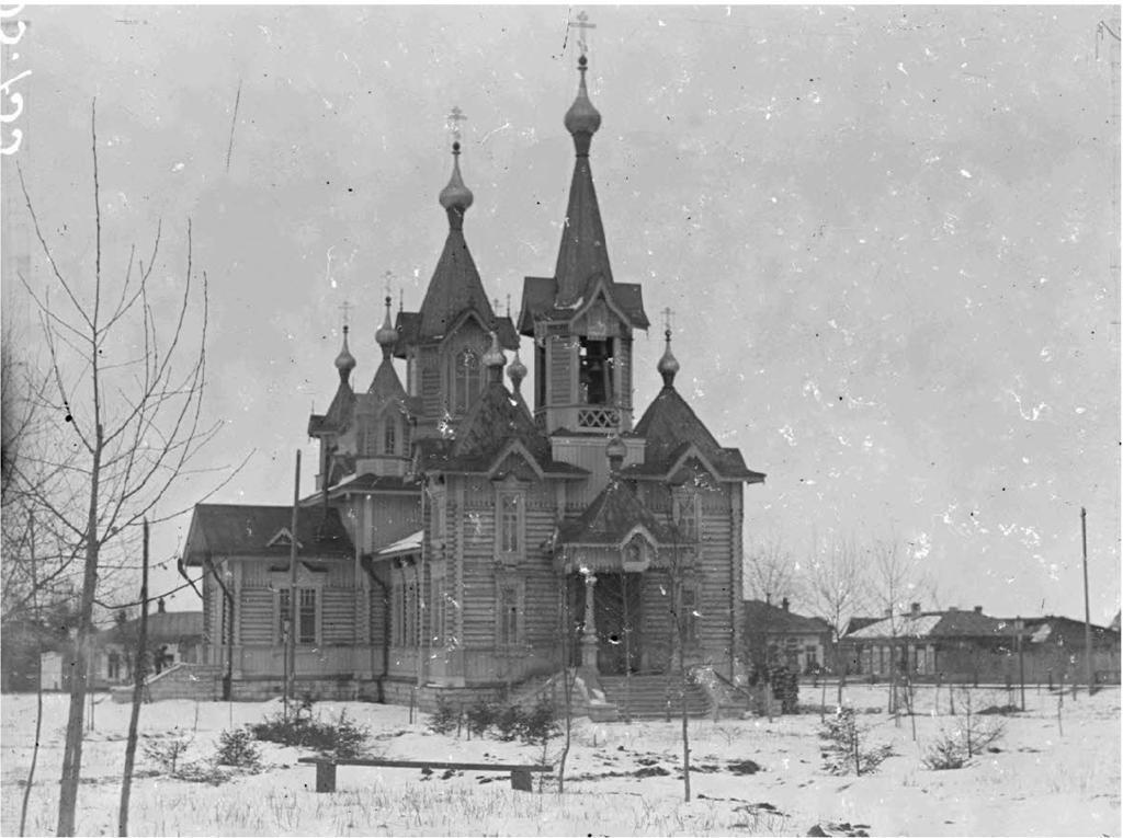 Церковь на Байкале. 1919.