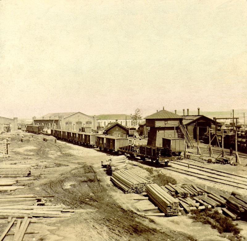 Иркутское вагонное депо
