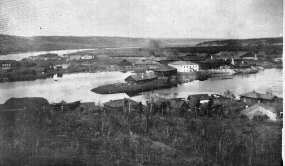 Вид на Хайтинский фарфоровый завод