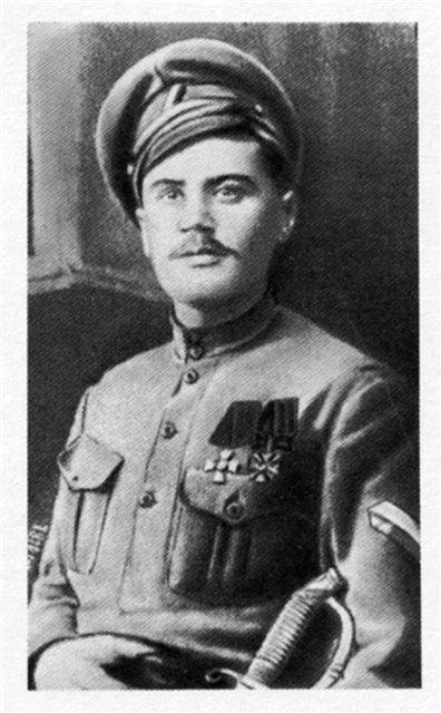 Полковник А.Н.Пепеляев, командир Средне-Сибирского армейского корпуса [июнь-начало июля] 1918 г.