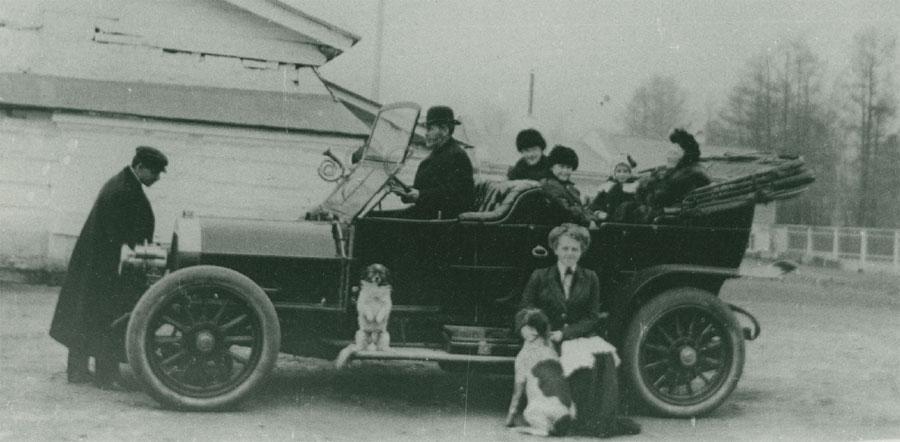 Один из автомобилей С. Н. Родионова. 1901-1912.