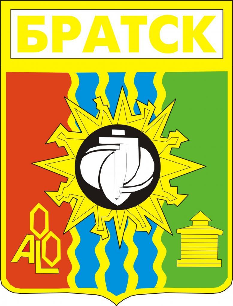 Герб г. Братска (редакция 1980 года)