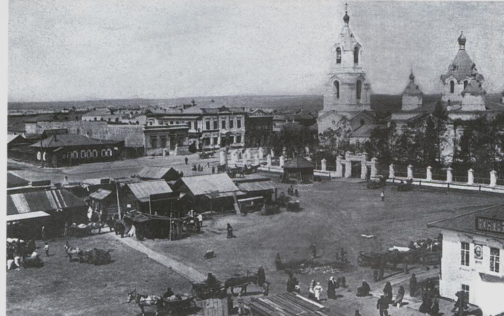 Спасская церковь с. Усолье Иркутской губернии