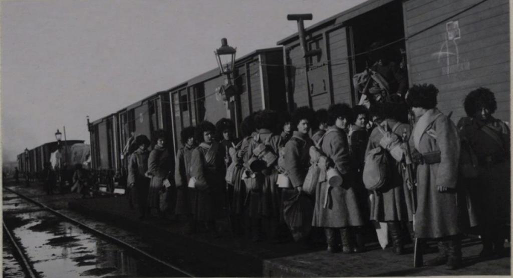Отправка войск из Иркутска в Маньчжурию