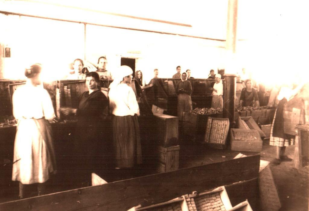 Работницы спичечной фабрики