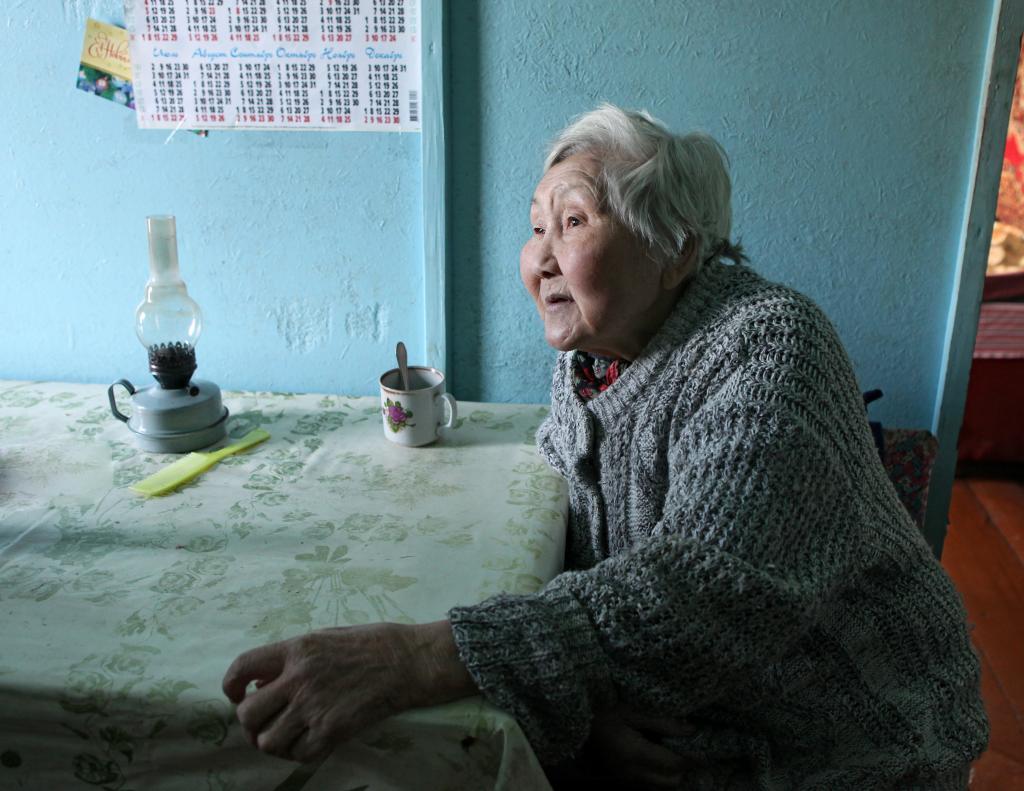 Александра Васильевна Сафонова 40 лет отработала фельдшером