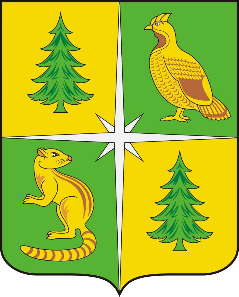 Герб Чунского района