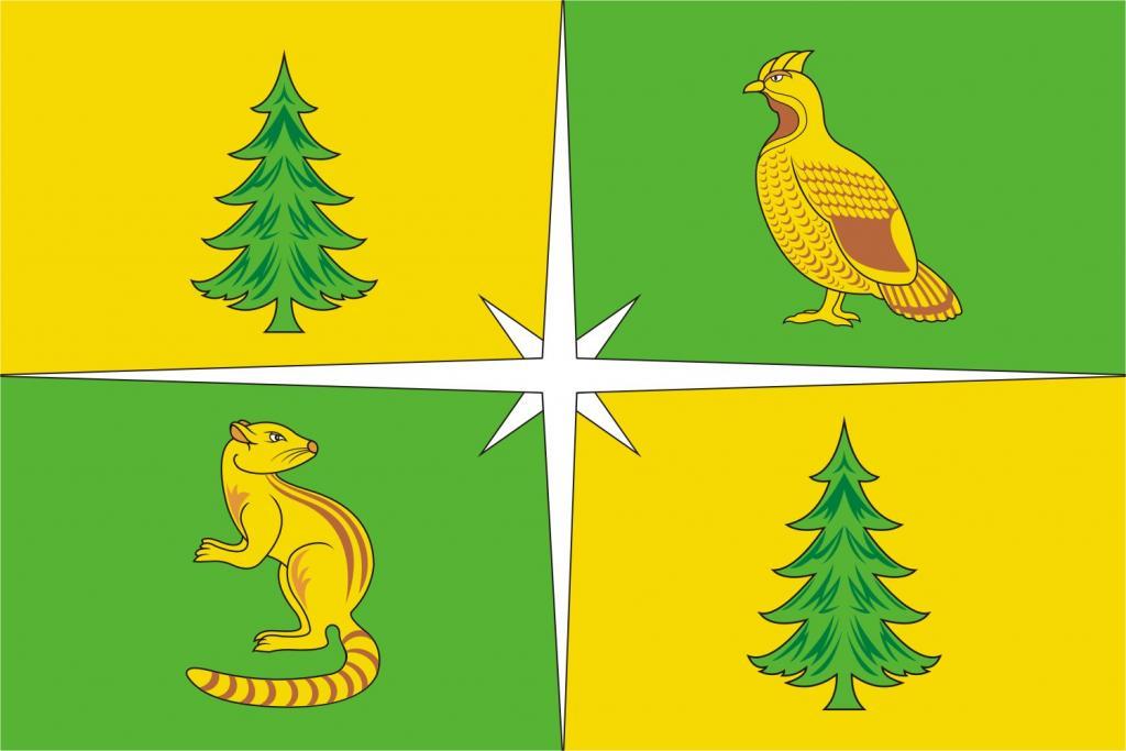 Флаг Чунского района