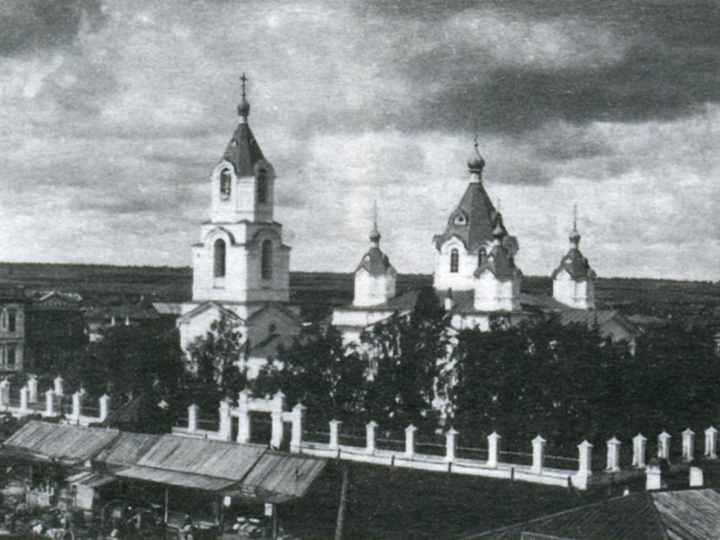 Спасская церковь в с. Усолье