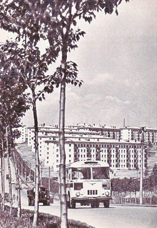Новый район - ул. Байкальская 1966 г