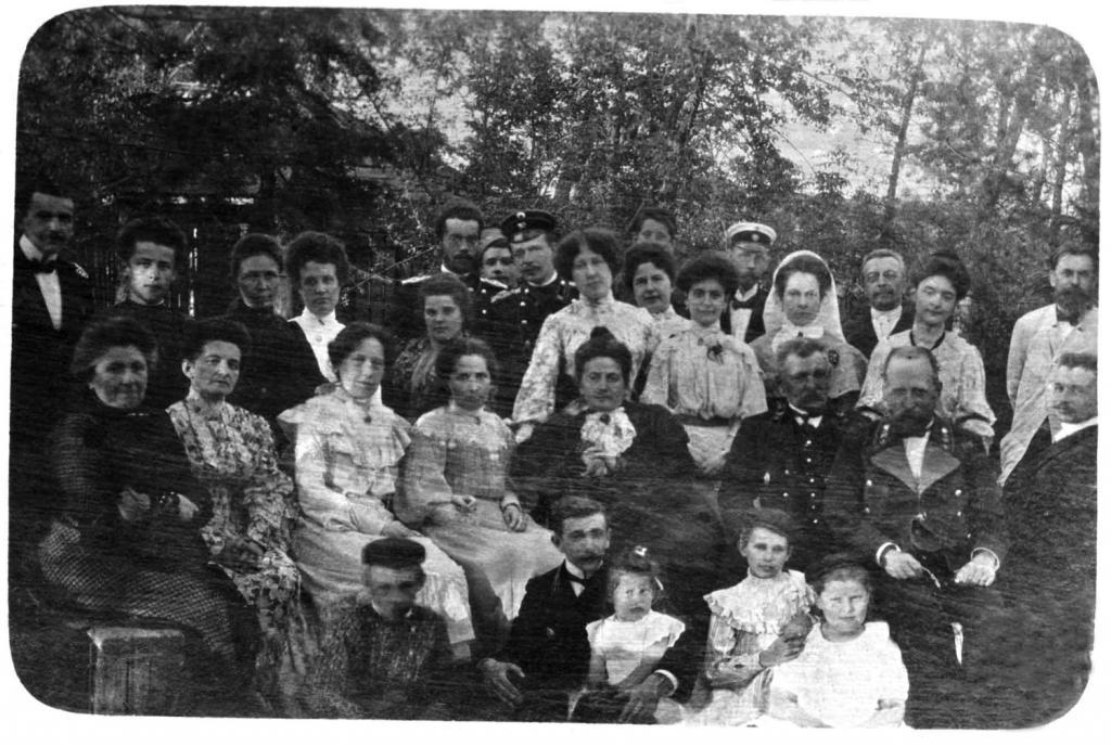 Групповая фотография 1900 года