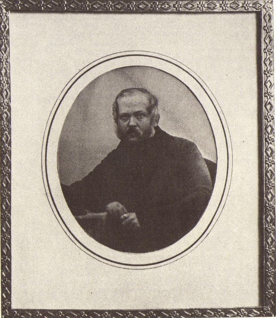 Панов Николай Алексеевич (19 ноября 1803— 14 января 1850). Дагерротип А. Давиньона. Иркутск. 1845 г.