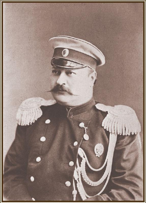 А. П. Игнатьев – генерал-губернатор Восточной Сибири (1885–1889). Фото П. А. Милевского. 1886-е.