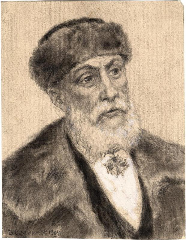Потомственный дворянин, кавалер Станислава на шее. Иркутск