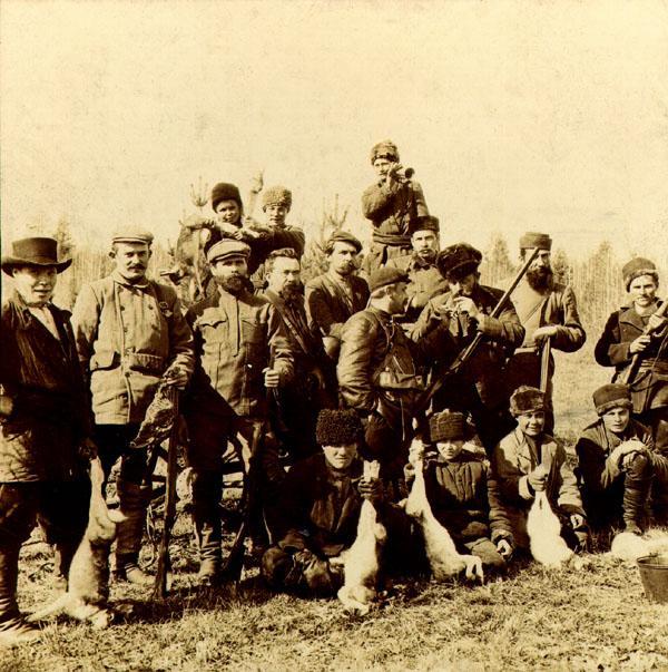 Около дер. Щукино. 23 сентября 1907 г.