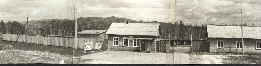 Вид на Иркутский питомник лаек в селе Быстрое Слюдянского района Иркутской области