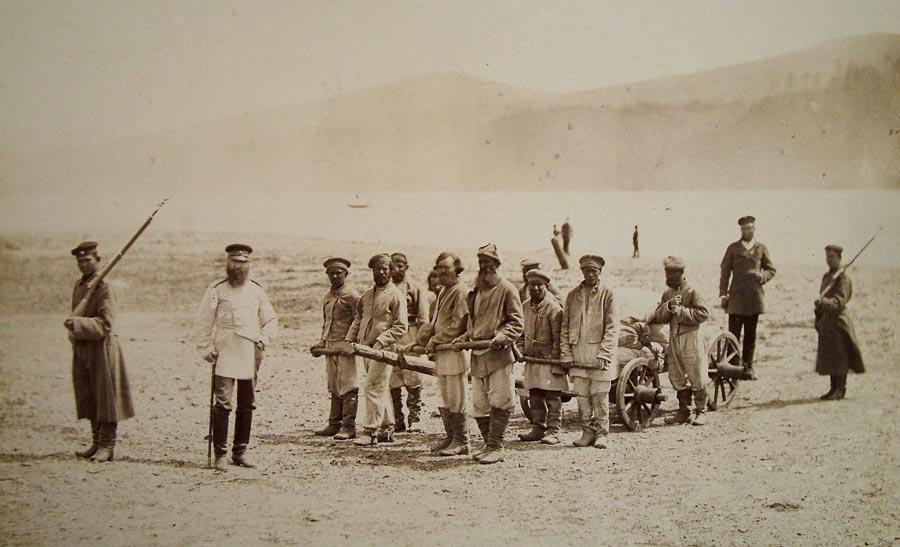 Каторга около Иркутска, начало 1900-х