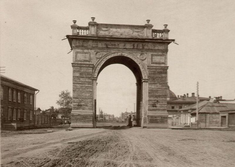 Амурские Ворота (ныне ул. Ленина)