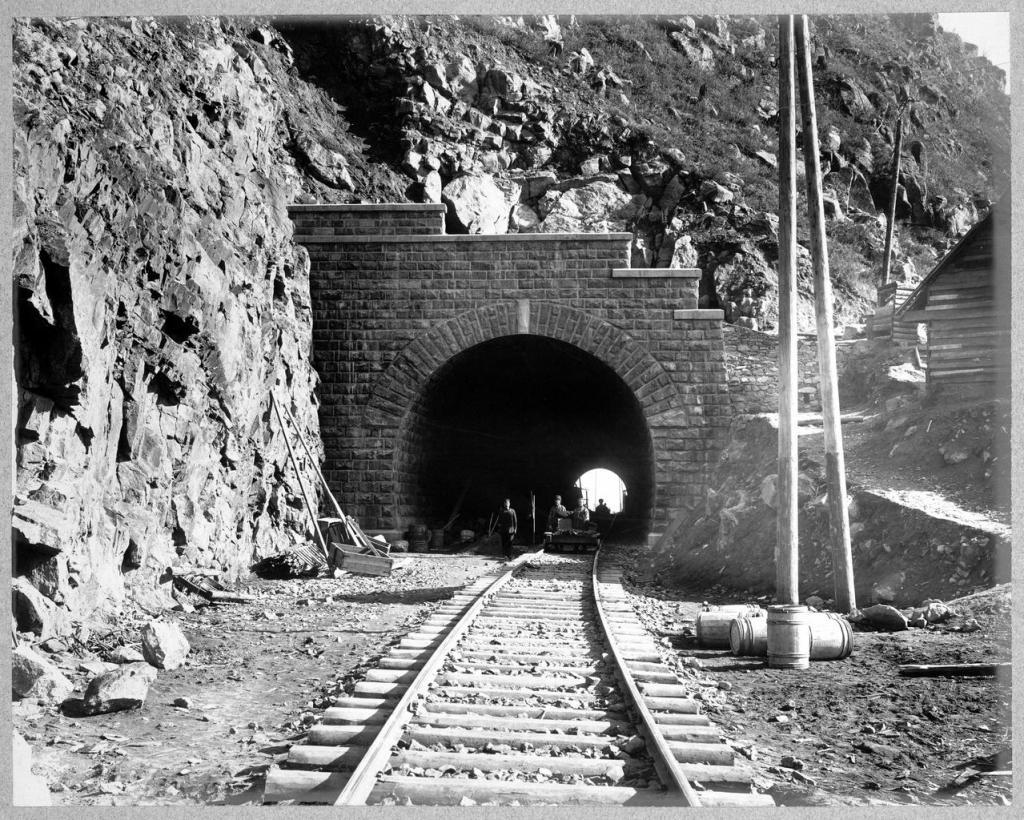 Общий вид тоннеля.