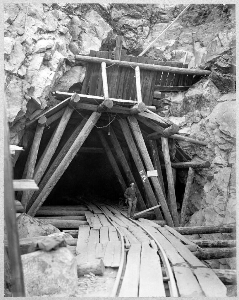 Разработка калотты тоннеля.
